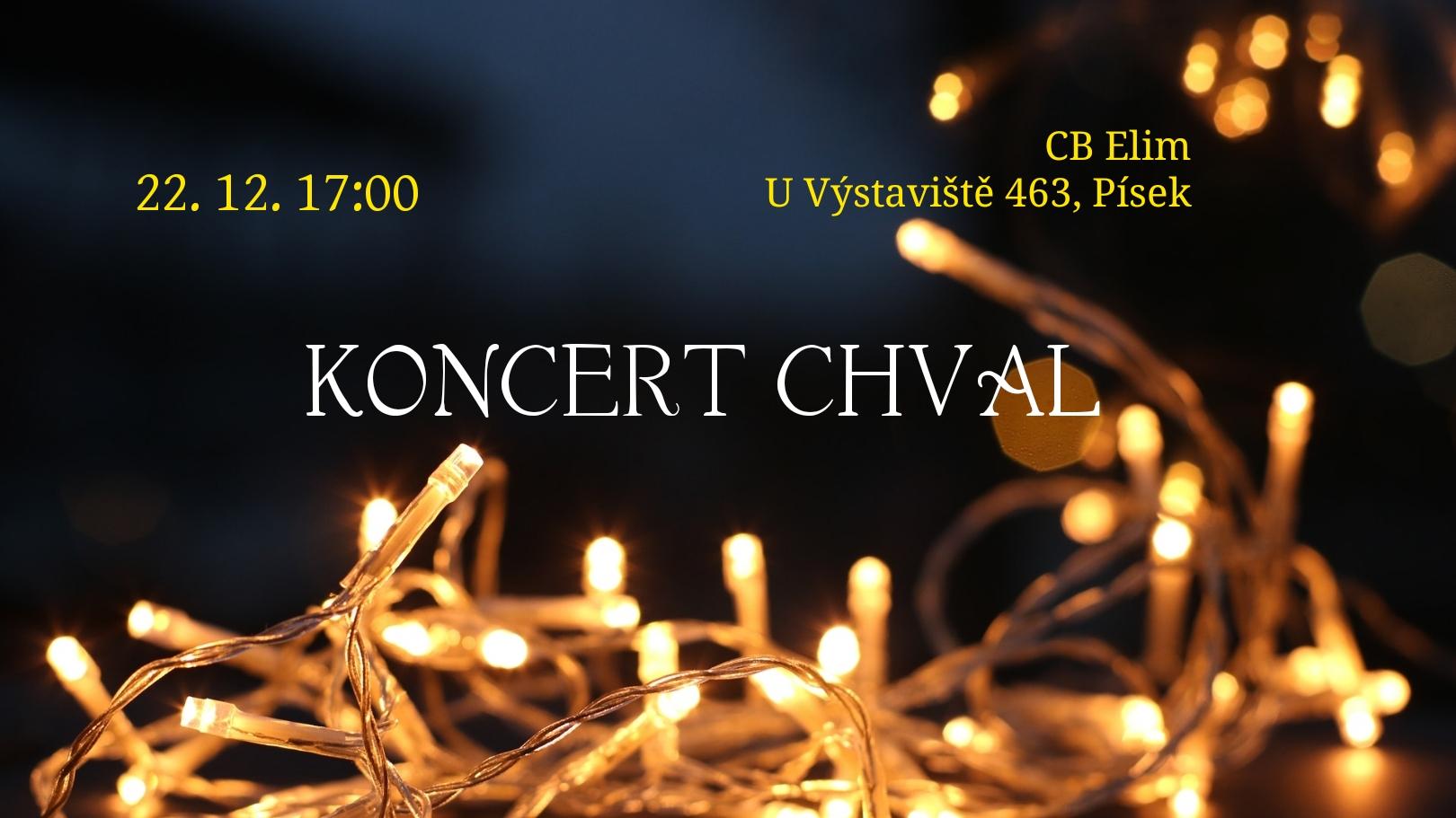 koncert chval kapitálky pozvánka